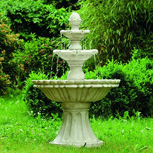 """Köhko® Wasserspiel Markleeberg"""" klassischer Etagenbrunnen Vogelbad 13010 Springbrunnen Gartenbrunnen"""