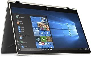 2019 Premium HP Pavilion X360 15.6 inch Touchscreen 2-in-1 Laptop (Intel Quad-Core i5-8250U (>i7-7500U) 1.6GHz up to 3.4GHz, 8GB RAM, 256GB SSD (Boot) + 1TB HDD, WiFi, Bluetooth, HDMI, Windows 10)