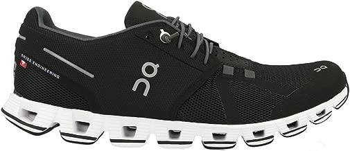 On-Running Mens Cloud Black/White Running Shoe - 9