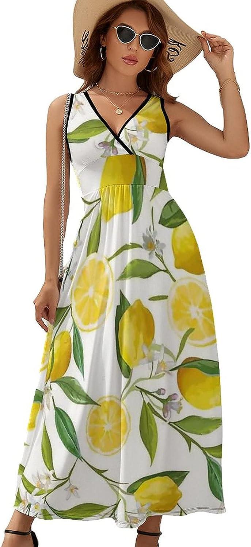Sleeveless Dresses for Summer Casual Save money V Lemons Oklahoma City Mall Neck Flowers with