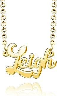 24k gold nameplate necklace