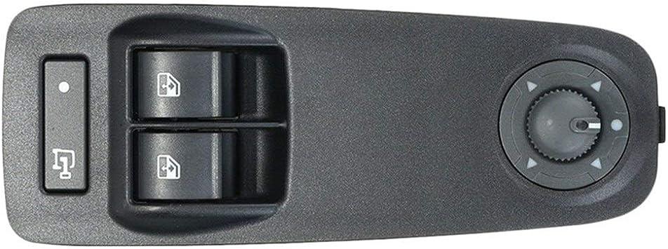 Kuangqianwei Elektrischer Fensterheber Neue Schalter For Fensterheber Fit For Peugeot Boxer Fit For Citroen Jumper Fit For Fiat Ducato Fit For 735487419 Color Name Black Auto