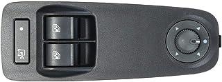 KUANGQIANWEI Elektrischer fensterheber Neue Schalter for Fensterheber Fit for Peugeot Boxer Fit for Citroen Jumper Fit for FIAT Ducato Fit for 735487419 (Color Name : Black)