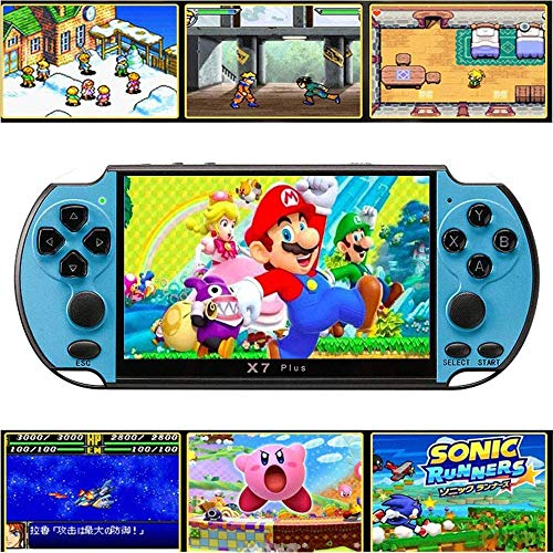 Handheld Game Console, Built-in Free 10000 Games 8GB 4.3'' TFT...