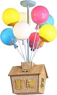 WWWL Plafonnier Dessin animé Pendentif Lights Balloon House Flying House Suspendu Chambre Enfants Chambre à Coucher Livin ...