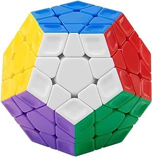 FAVNIC メガミンクス Megaminx 立体パズル 脳トレ ポップ防止 知恵おもちゃ (メガミンクス3x3 Stickerless)