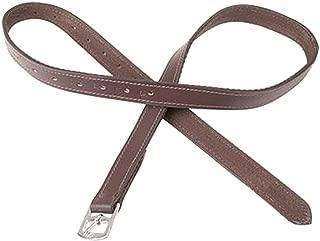 """Adulte Anglais Horse Saddle 4.5/"""" Fillis Étriers Fers Avec Noir étrivières"""