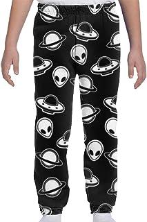Yesbnow Adolescentes Niños Niñas Pantalones de chándal Pantalones Deportivos Deportivos o Loungewear de la Parte Inferior ...