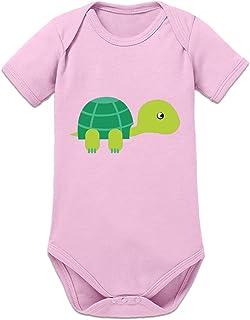 Shirtcity Schildkröte Illustration Baby Strampler by