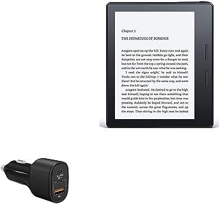 Carregador para carro Amazon Kindle Oasis (1ª geração 2016), BoxWave [SwiftCharge PD QC4.0 Carregador para carro Plus (60...