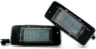 2 x LED Kennzeichenbeleuchtung Xenon Leuchte Kennzeichen 6000K