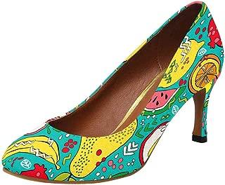 Womens High Heels Pull On Fashion Dress Pump US5-US11
