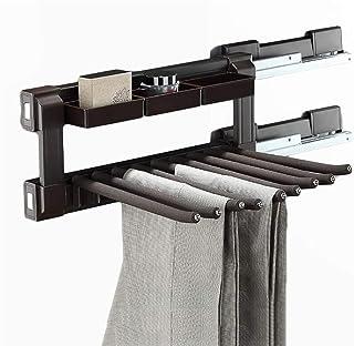 Cintre Télescopique Porte-armoire Pantalon Pantalon de penderie, accessoires de vestiaire Accessoires de chargement par pa...