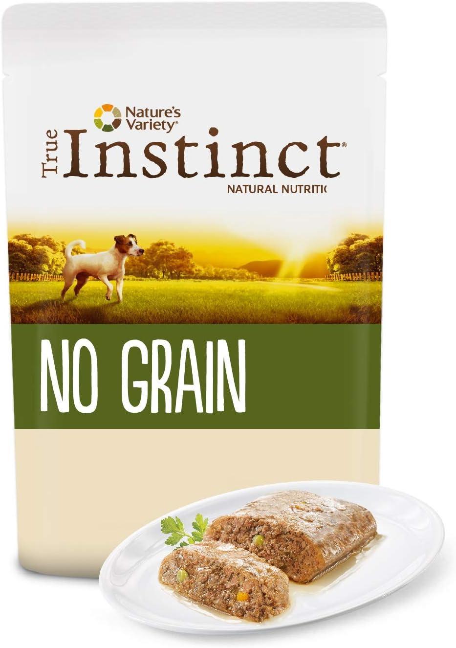 comida húmeda natural perros True Instinct No Grain
