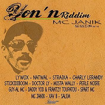 Dub yon'n (Yon'n riddim Janik MC session n° 4)