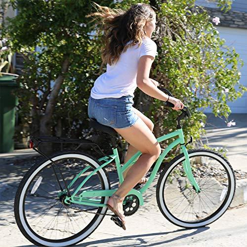 61cN1CAS+kL. SL500 Schwinn Perla Womens Beach Cruiser Bike