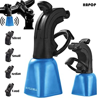 Bike Bell Ring - Mountain Bike Bell - MTB Bell - Alerts Wildlife Hikers Other Mountain Bikers