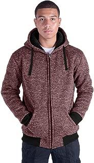 Fashion Full Zip Up Hoodies for Men Zipper Sports Sweatshirts Mens Winter Fleece Fabric Jacket with Hood