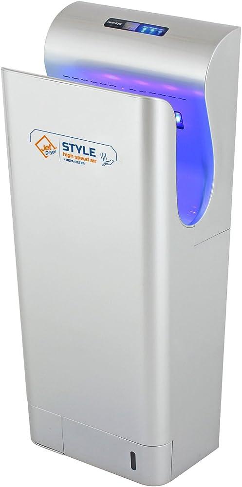 Asciugatore con filtro hepa, filtro uv sterilizzazione a secco 8596220002693