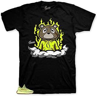 Shirt Match Yeezy Frozen Yellow - Fly Bear Sneaker Tee