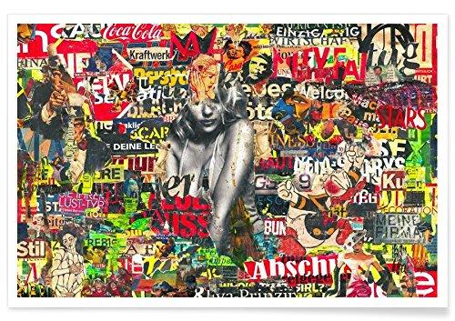 Juniqe® Affiche 60x90cm Pop Art - Design Trashy, 2007\