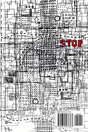 "Notebook: Stop Ii , Journal for Writing, College Ruled Size 6"" x 9"", 110 Pages"
