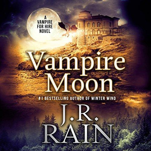 Vampire Moon audiobook cover art