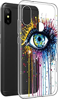 15004d856a7 Funda Xiaomi Mi A2 Lite, Eouine Cárcasa Silicona 3D Transparente con  Dibujos Diseño [Antigolpes