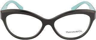 Tiffany & Co. TF2176 - 8001 Eyeglass Frame BLACK w/ Clear Demo Lens 53mm