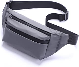 Fanny Packs for Women & Men Stylish Waterproof Crossbody Fanny Bag with Surprising Storage Function and Adjustable Strap G...