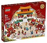 LEGO Tempelmarkt para Chinas Neujahrsfest 80105 Chinese Nuevo Año Temple Fair