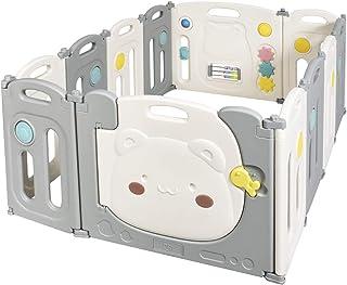 Lcp Kids Parque Beb/é Corralito Infantil Plegable con Puerta set 6 piezas 1 barrera de seguridad