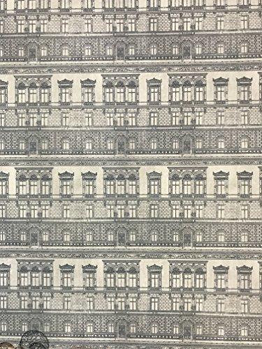 Carta da parati palazzo città rotolo cm 53 x metri 10 collezione...