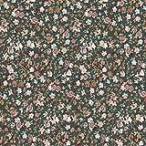 Schickliesel Organic Jersey Stoff Meterware Sommerblüten