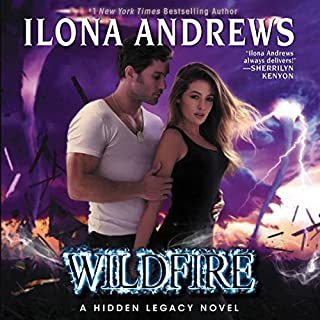 Wildfire     A Hidden Legacy Novel              Auteur(s):                                                                                                                                 Ilona Andrews                               Narrateur(s):                                                                                                                                 Renee Raudman                      Durée: 12 h et 44 min     17 évaluations     Au global 4,9