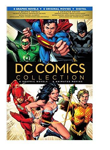 DC Comics Collection - 6 novelas Graficas, 6 peliculas animadas (copia digital -...