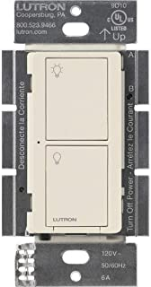 Lutron Caseta Smart Home Switch, Works with Alexa, Apple HomeKit, Google Assistant | 6-Amp, for Ceiling Fans, Exhaust Fan...