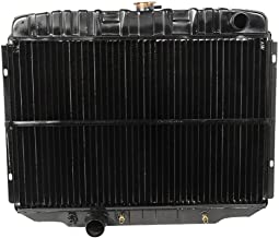 1967-1970 Ford Mustang 390/428 Radiator 3 Row Large Tube O/e Style Lh NEW W Ac