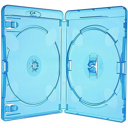 Amaray Blu Ray Hüllen 15 Mm Doppel Für 2 Disc 10 Stück Computer Zubehör
