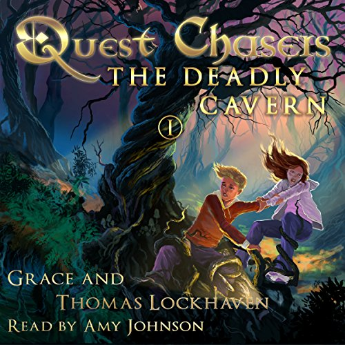 Quest Chasers: The Deadly Cavern audiobook cover art