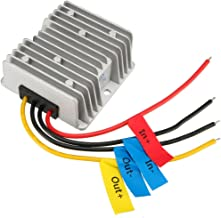 uxcell® Power Converter Regulator DC12V(10V~16V) Step-Up to DC19V 6A 114W Waterproof Voltage Convert Transformer