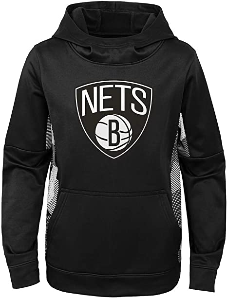 OuterStuff NBA Youth 4-20 Stadium Performance Pullover Sweatshirt Hoodie Youth - Medium, Indiana Pacers Navy