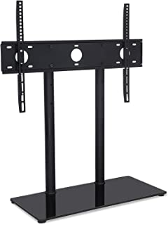 Mount-It! Universal Tabletop TV Stand Base, Height Adjustable TV Television Bracket Fits 32 to 55 inch LED LCD Flat Screens (MI-846)