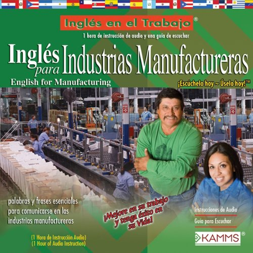 Ingles para Industrias Manufactureras (Texto Completo) [English for Manufacturing Industries ] cover art