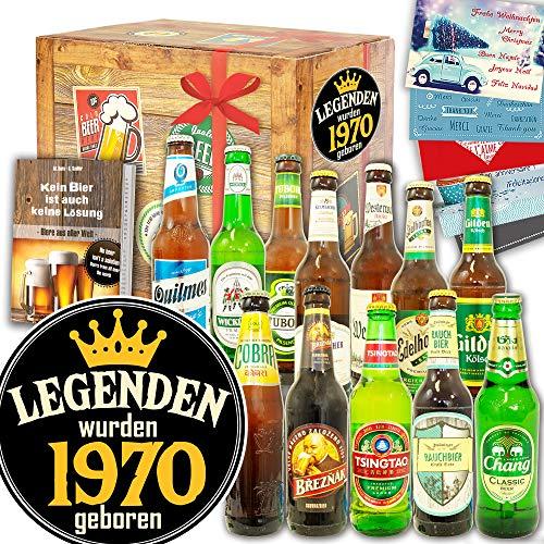 Legenden 1970 ++ 12x Biere Welt und DE ++ Geburtstag Geschenke