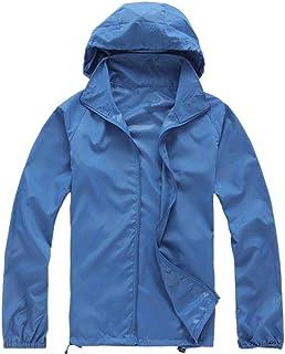 Lanbaosi Women's Lightweight Jacket UV Protect+Quick Dry Windproof Skin Coat