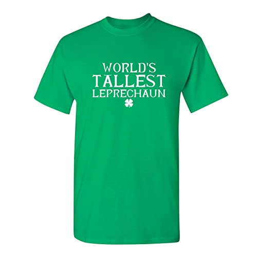 ba2495c2e Feelin Good Tees Tallest Leprechaun St. Patrick's Day Saint Irish Pats  Sarcastic Funny T Shirt