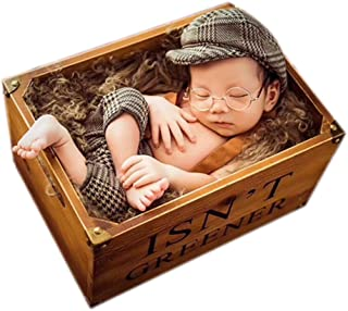 Newborn Photography Props Baby Boy Girl Photo Shoot Outfits Knitted Crochet Costumes Cap&Rompers