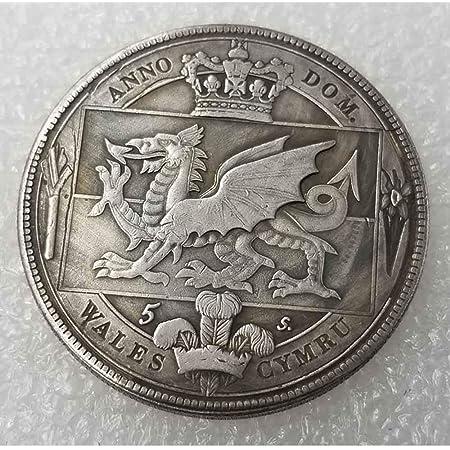 Best Discover History of Coins BestShop YunBest 1652 Rare Antique UK British Old Coin-UK Old Coin Gran Chel/ín Brit/ánico Moneda Vieja Monedas conmemorativas sin circular