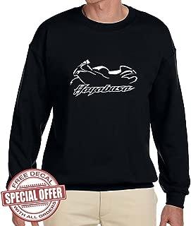 Suzuki Hayabusa Classic Motorcycle Outline Design Sweatshirt